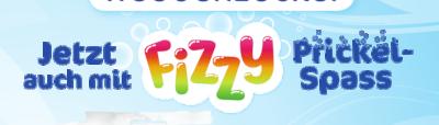 Jetzt auch mit Fizzy Prickel-Spaß