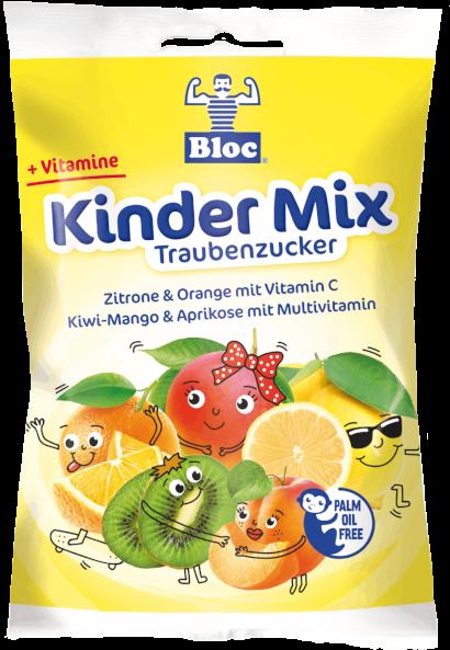 Bloc Traubenzucker Kinder Mix Beutel Packshot