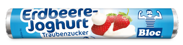 Bloc Traubenzucker Erdbeer-Joghurt Rolle Packshot