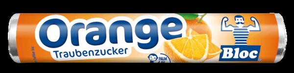 Bloc Traubenzucker Orange Rolle Packshot