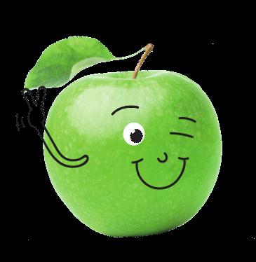 Bloc Traubenzucker mit dem Geschmack des grünen Apfels